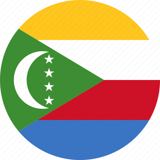 comoros, country, flag icon