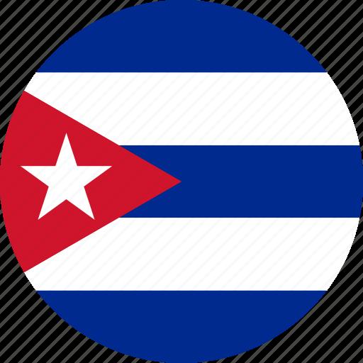 country, cuba, flag icon