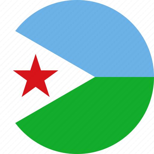 country, djibouti, flag icon