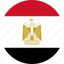 country, egypt, flag icon