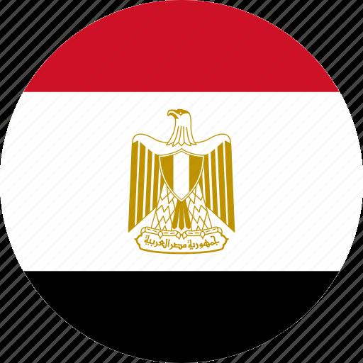 country, egypt, flag icon