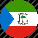 country, equatorial, equatorial guinea, flag, guinea icon
