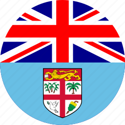 country, fiji, flag icon