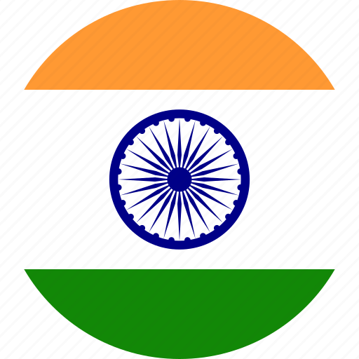 India, country, flag icon - Download on Iconfinder
