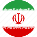flag, iran, national icon
