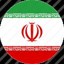 iran, flag, national