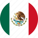 mexico, country, flag icon
