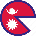 nepal, country, flag