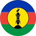 flag, new caledonia icon