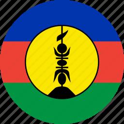 flag, new caledonia icon