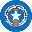 flag, northern mariana islands icon