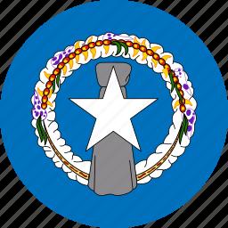 flag, northern mariana islands icon