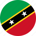 flag, saint kitts and nevis icon