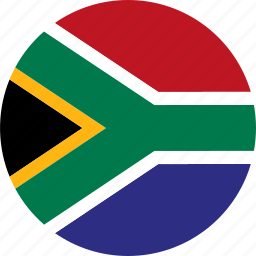 country, flag, south africa icon
