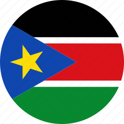 country, flag, south sudan, sudan icon