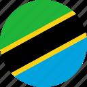 tanzania, country, flag