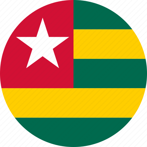 country, flag, togo icon