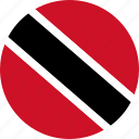 country, flag, trinidad and tobago icon