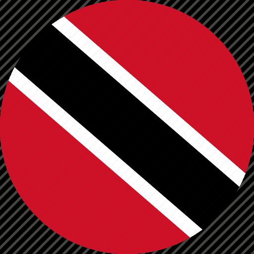 country, flag, trinidad and tobago icon