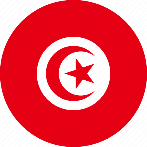 Tunisia, country, flag icon - Download on Iconfinder