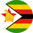 zimbabwe, country, flag