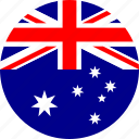 australia, country, flag