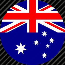 australia, country, flag icon