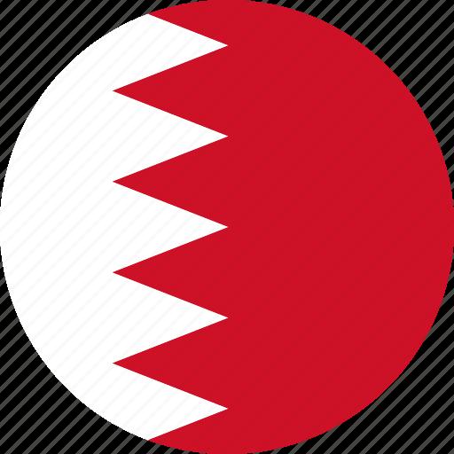 bahrain, country, flag icon