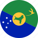 christmas island, flag icon