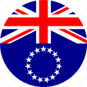 cook islands, flag icon