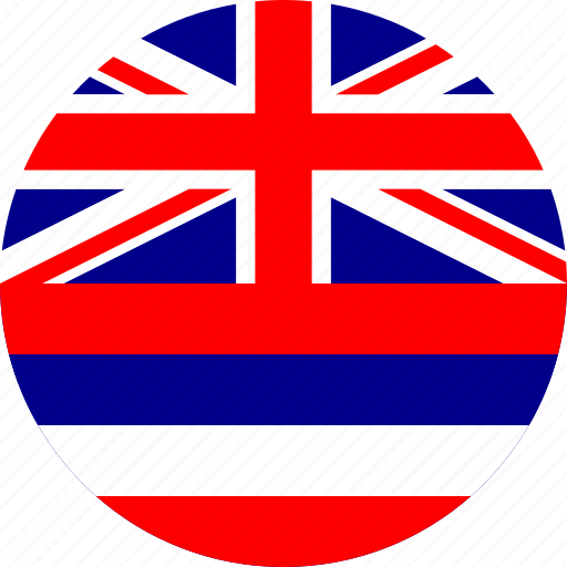 flag, hawaii, state icon