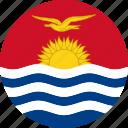 kiribati, country, flag