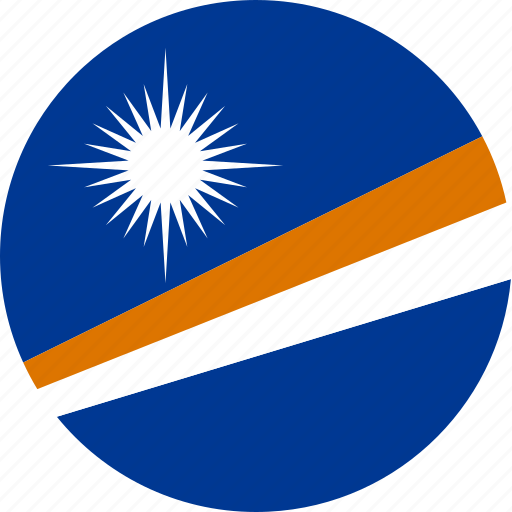country, flag, marshall, marshall islands icon