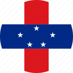 flag, netherlands antilles icon