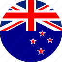 new zealand, country, flag