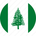 country, flag, norfolk, norfolk island icon