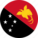flag, papua new guinea icon