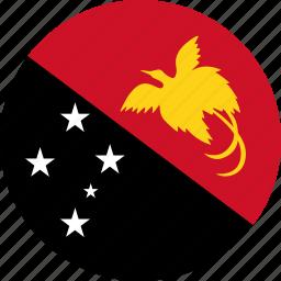flag, papua new guinea icon