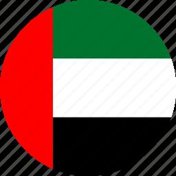 arab, emirates, uae, united arab emirates icon