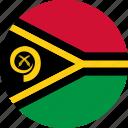 vanuatu, country, flag