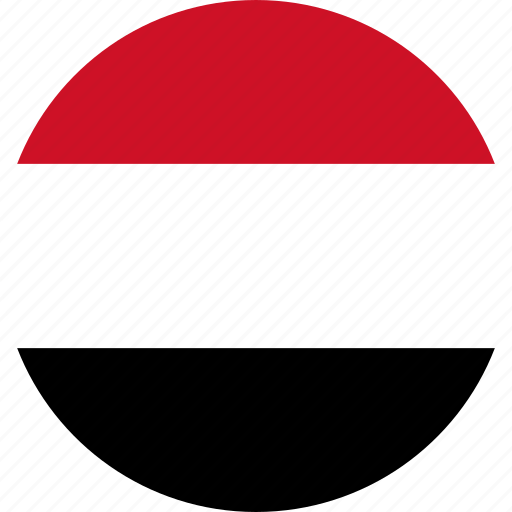 country, flag, yemen icon