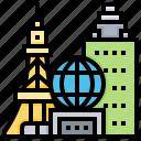 landmark, las, metropolis, usa, vegas
