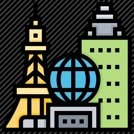 landmark, las, metropolis, usa, vegas icon