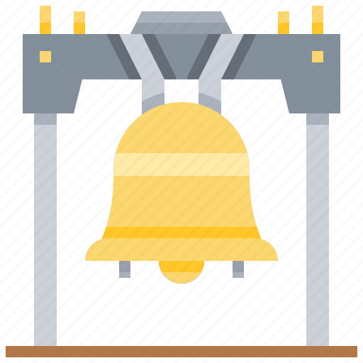 bell, freedom, independent, liberty, tower icon