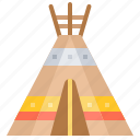 indian, shelter, teepee, tent, tipi