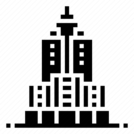 building, height, landmark, skyscraper, tall icon