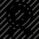 star banner, star badge, star label, achievement, championship icon