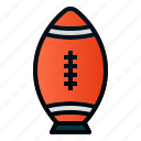 ball, placekick, tee, rugby, american, football, sport
