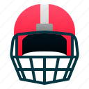 helmet, safety, rugby, american, football, sport