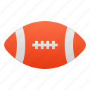 ball, oval, rugby, american, football, sport